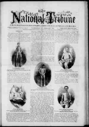 The National Tribune Gazetesi 1 Şubat 1878 kapağı