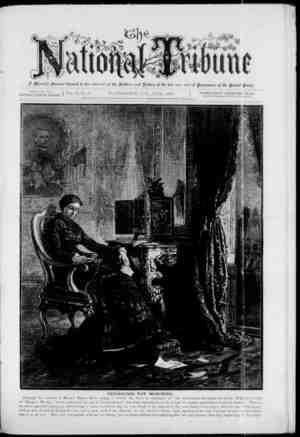 The National Tribune Gazetesi 1 Haziran 1879 kapağı