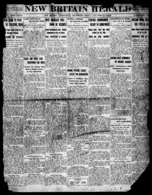 New Britain Herald Gazetesi 1 Nisan 1914 kapağı