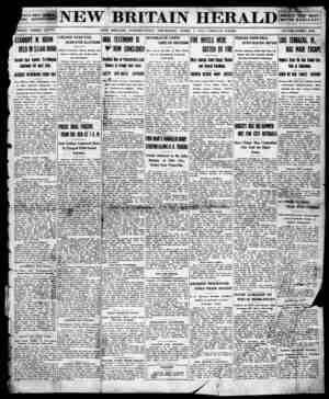 New Britain Herald Gazetesi 2 Nisan 1914 kapağı
