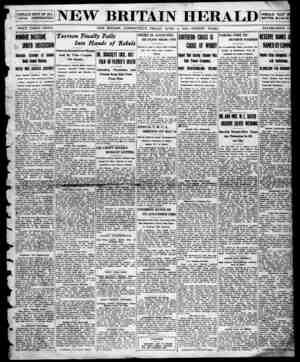 New Britain Herald Gazetesi 3 Nisan 1914 kapağı
