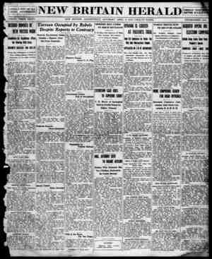 New Britain Herald Gazetesi 4 Nisan 1914 kapağı