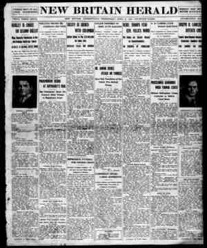 New Britain Herald Gazetesi 8 Nisan 1914 kapağı