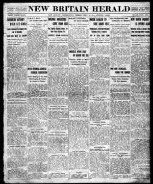 New Britain Herald Gazetesi 10 Nisan 1914 kapağı