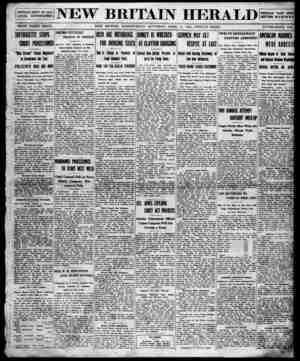 New Britain Herald Gazetesi 11 Nisan 1914 kapağı