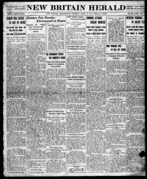 New Britain Herald Gazetesi 13 Nisan 1914 kapağı