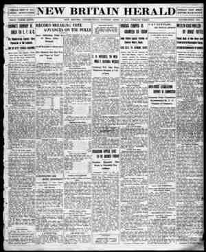 New Britain Herald Gazetesi 14 Nisan 1914 kapağı