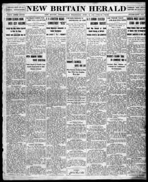 New Britain Herald Gazetesi 15 Nisan 1914 kapağı