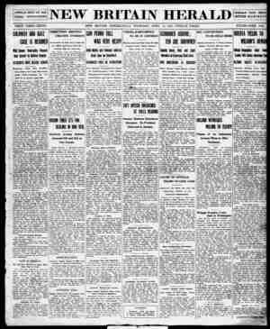 New Britain Herald Gazetesi 16 Nisan 1914 kapağı
