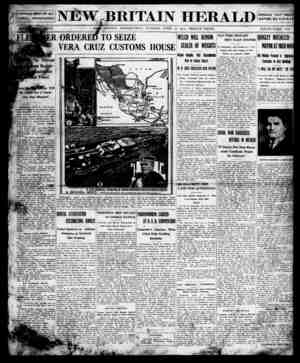 New Britain Herald Gazetesi 21 Nisan 1914 kapağı