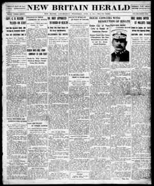 New Britain Herald Gazetesi 22 Nisan 1914 kapağı