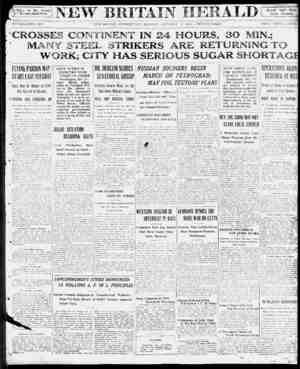 """Nevs of 1 IT? 1 Herald """"Ads"""" Mean Better Business me v urul. I v iy Associated rress. - tJ ESTABLISHED 1870. NEW BRITAIN,..."""