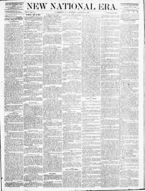 New National Era Gazetesi 8 Eylül 1870 kapağı