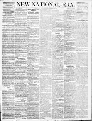 New National Era Gazetesi 29 Eylül 1870 kapağı