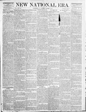 New National Era Gazetesi 27 Ekim 1870 kapağı