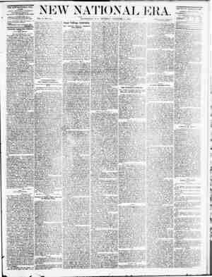 New National Era Gazetesi 24 Kasım 1870 kapağı