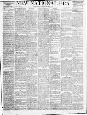 New National Era Gazetesi 1 Aralık 1870 kapağı