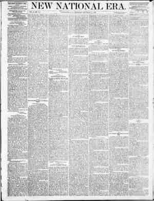 New National Era Gazetesi 15 Aralık 1870 kapağı