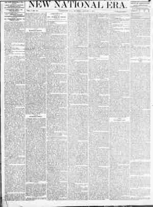 New National Era Gazetesi 5 Ocak 1871 kapağı