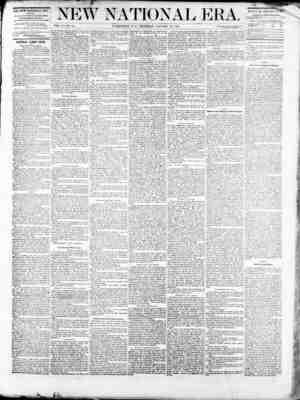 New National Era Gazetesi 19 Ocak 1871 kapağı