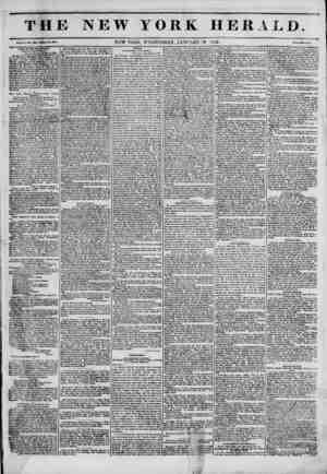 The New York Herald Gazetesi January 19, 1842 kapağı