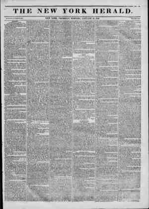 TH Vol. IX.?Ho. U,?Whole No. 3???. Washington. [Correoponilence of the HeralJ.J Washington, Monday night, Jan. 9, 1843. Mr.