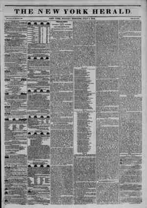 mmm THE NEW YORK HERALD ?*??. NEW YORK, MONDAY MORNING, JULY S, 1844. To tli* Puhite. THE NEW YORK HEHALD?daily nowspaper-put