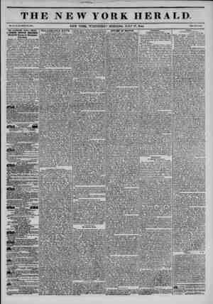 THE NEW YORK HERALD Vol. X., Ho. 107?Wholo No. ST07. NEW YORK. WEDNESDAY MORNING, JULY 17, 1844. Priom Two Out*. THE...