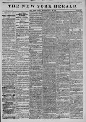 THE NEW YORK HERALD. Vol. X., Ho. 10U-WhoU No. 9799. NEW YORK. FRIDAY MORNING, JULY 19. 1844. Mm Two Conto, Another Splendid
