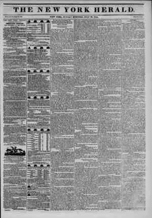 "THE NEW YORK HERALD *??. NEW YORK, SUNDAY MORNING, JULY 28, 1844. *""?- c? THE NEW YORK HERALD. AGGREGATE CIRCULATION..."