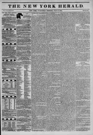 THE NEW YORK HERALD vNEW YORK, WEDNESDAY MORNING. JULY 31. 1844. Prt~Tw*0? THE NEW YORK HERALD. AGGREGATE CIRCULATION...