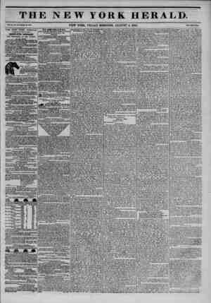 THE NEW YORK HERALD. v*.x,...?-?.3?u. NEW YORK. FRIDAY MORNING, AUGUST 2, 1844, ? THE NEW YORK HERALD. AGGREGATE CIRCULATION