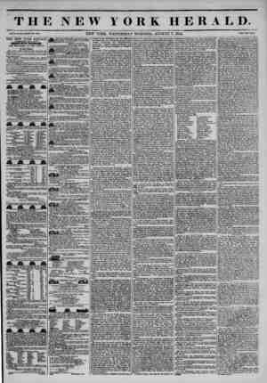 THE NEW YORK HERALD. Vol. X., No. #18.?Whole No. 3*18. NEW YORK, WEDNESDAY MORNING, AUGUST 7, 1844. Price Two Cent*. THE NEW