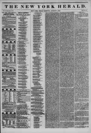 THE NEW YORK HERALD. Vol. X.t No. WfeoU No. 3SJIO. NEW YORK. FRIDAY MORNING. AUGUST 9, 1844. Prleo Two Cent*. THE NEW YORK