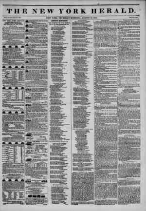 THE NEW YORK HERALD. Vol. X., Br*. tt!40_ Whole No. 38X6. NEW YORK, THURSDAY MORNING, AUGUST 15, 1844. Prleo Two Conta. THE
