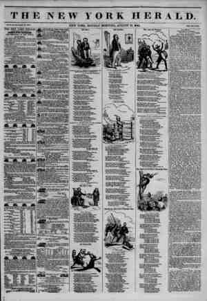 THE NEW YORK HERALD, Vol. X., No. ? JO?Whole No. 36%. NEW YORK, MONDAY MORNING, AUGUST 19, 1844. Price Two Cento. THE NEW...