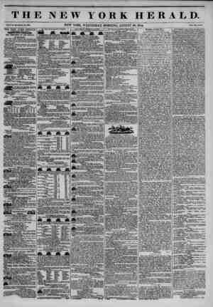 THE NEW YORK HERALD. ~a ' - ?rr?-.T - Vol. X., llo. ?3U?Whole Ho. W31). NEW YORK, WEDNESDAY MORNING, AUGUST 28, 1844. Price