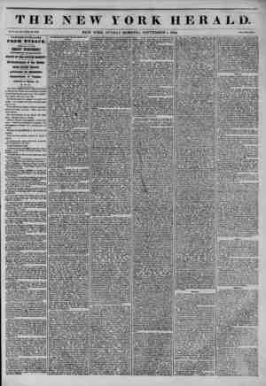 THE NEW YORK HERALD. Vol. X., No. 843?Whole do. 3843. NEW YORK, SUNDAY MORNING, SEPTEMBER 1, 1844. J?rlr? Two Cent*. THIRTEEN