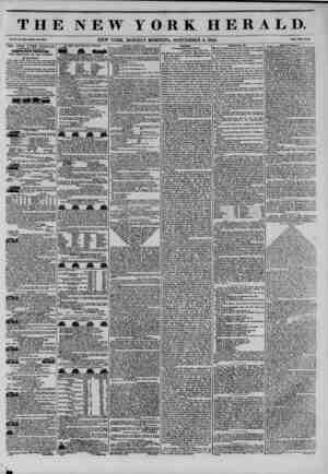 THE NEW YORK HERALD. Vol. X., Ho. Ml*?Whole Ho. 3844. NEW YORK, MONDAY MORNING, SEPTEMBER 2, 1844. Prlc* Two CeiiU. THE NEW