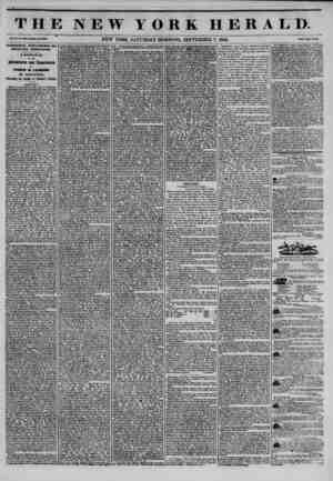 THE NEW YORK HERALD. Vol. X., No. 44V?Whole Ha. IMtt. NEW YORK, SATURDAY MORNING, SEPTEMBER 7, 1844. Price Two Cents....