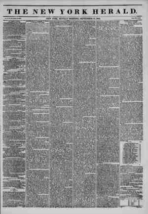 . THE NEW YORK HERALD. Vol. No. *98?Whole No. 3898. NEW YORK, MONDAY MORNING, SEPTEMBER 16, 1844. Price Two Cent* ST. GEORGE