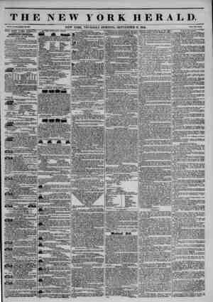 THE NEW YORK HERALD. Vol. X., No. XOI?Whola So. SMI. NEW YORK, THURSDAY MORNING, SEFfEMBER 19, 1844. Prle* Two C?>l?....