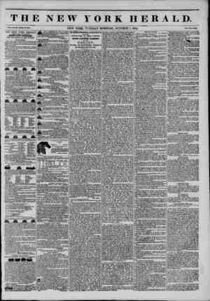 THE NEW YORK HERALD. Vol.X., Wo. ?7I?WhoU No. 3871. NEW YORK, TUESDAY MORNING, OCTOBER 1, 1844. Pale* Two CmM> inn JNKW YORK