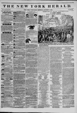 THE NEW YORK HERALD. Vol. x., no. ara-whou no. ma. NEW YORK, WEDNESDAY MORNING, OCTOBER 2, 1844. PriM Two Own. THE NEW YORK