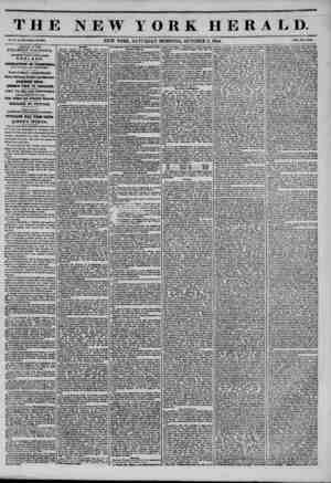 THE W YORK HERALD. Vol. X., Ho. *75?Whol? No. Wl. NEW YORK, SATURDAY MORNING, OCTOBER 5, 1844. Prtco Two C?nM* ARRIVAL OF THE