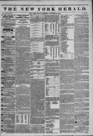 THE NEW YORK HERALD. Vol. X., Bo. IM-WhoU Ho. W8M NEW YORK, FRIDAY MORNING, OCTOBER 18, 1844. Prtc? Two COBtft* THE NEW YORK