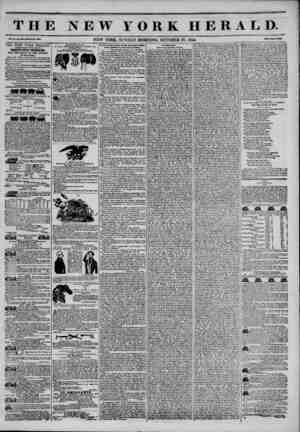 THE NEW YORK HERALD. ?' ? pP Vol. XH No. ?0O?Wlial* I*. IbttO. NEW YORK, SUNDAY MORNING, OCTOBER 20, 1844. Mm Two Ct?H? THE