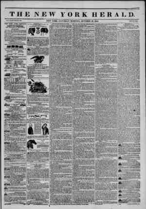 THE NEW YORK HERALD. No. ?W.WIU>1* Ho. SM06. k*n?M Tww uiu. THE NEW YORK HERALD. AGGREGATE CIRCULATION THIRTY-FIVE THOUSAND.