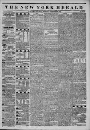 THE NEW YORK HERALD. Vol. X., No. 903? Wliol* No. JWU3 NE W YORK, SATURDAY MORNING, NOVEMBER 2, 1844. I?r?e? Vm Ctati. I HE