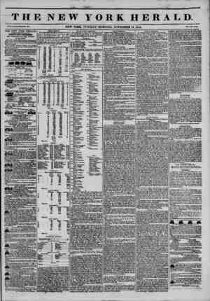 THE NEW YORK HERALD. Vol. X* No. 313?WhaU Ho. 3013. NEW YORK, TUESDAY MORNING, NOVEMBER 12, 1844. Prlo* Two CmM. THE NEW YORK
